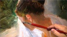 vladimir volegov painting demo - YouTube