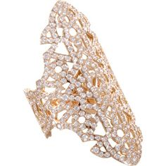 £14,895 Repossi Pink Gold & Diamond Maure Ring