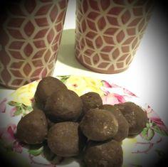 Amazeballs met een bite! Choco Balletjes met Proteïne poeder en kokos, heerlijke post workout snack