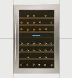 Caple, Built In Wine Cabinet in Stainless Steel with 7 Shelves and…