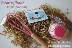 It's A Savory Feasts First Blogiversary! Celebrate all week with fun posts and a giveaway.