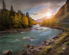 Алтай. река Катунь.
