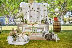 Mesa de novios vintage/ Vintage table for the bride and groom