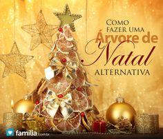Como fazer uma árvore de Natal alternativa
