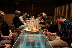 Dutch Invertuals event - food 'beyond the plate' - Eating Design