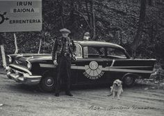 (1956): Control rutinario de carretera en Territorio Komantxe.