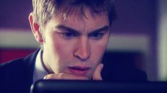 Chace Crawford, nate archibald, and gif image