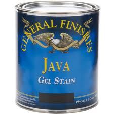 Gel Stain that I will use to darken some furniture without stripping or sanding. I am going to darken my mantle, a small shelf on my wall, an end table and a TV tray beside my bed.