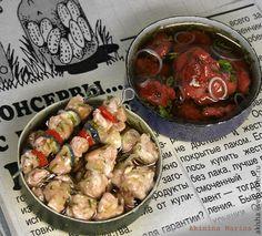 Маринуем мясо Шашлык кукольная миниатюра - Чудеса в ладошке (Акинина Марина)