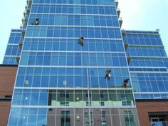 Have you ever given a thought on how the windows of high rise buildings are cleaned? It's a simple question as it is seriously not possible for a common man to clean the windows so high.