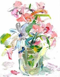 Concepción Balmes de la serie Estudios para un ramo Gota, Flowers, Anime, Painting, Pocket, Happy, Paintings, Floral Bouquets, Shells