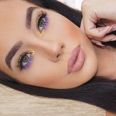 Subtle Makeup, Blue Eye Makeup, Glam Makeup, Pretty Makeup, Beauty Makeup, Makeup Style, Pastell Make-up, Pastel Eyeshadow, Blaues Make-up