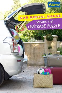 Two car-packing pros share insider tips to help travelers easily load their cars and drive off on vacation in no time.