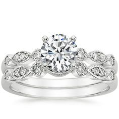 Platinum Tiara Diamond Ring from Brilliant Earth  Some one PLEASE tell my future husband that THIS is what I want!!!