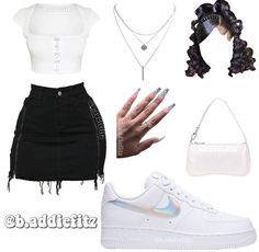 Swag Outfits For Girls, Cute Outfits For School, Teenage Girl Outfits, Cute Swag Outfits, Cute Comfy Outfits, Teen Fashion Outfits, Retro Outfits, Girly Outfits, Chill Outfits