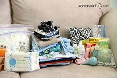 Infant's 72 Hour Kit (6-12 months old / warm weather)