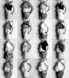 Love pregnancy progression pics!