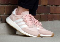The adidas Iniki Boost Pink Gum (Style Code: BY9094) will release this June 2017 for $120 USD. Check out an on-feet selection of the women's colorway: