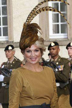Los tocados de las invitadas a la boda real de Luxemburgo