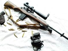 M1a/M14 former standard rifle for the US military from the mid-50
