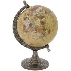 small globes for sale black