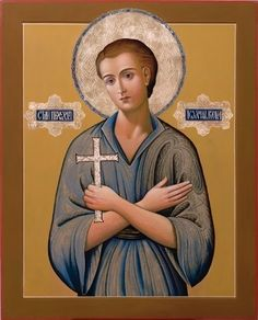 Saint John the Russian Byzantine Icons, Orthodox Icons, Mona Lisa, Saints, Blessed, Hero, Artwork, Movie Posters, Saint John