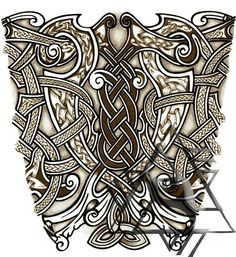 viking sleeve tattoos - Google Search                                                                                                                                                      More