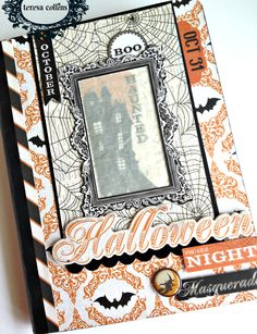 Halloween Mini-Boo - Scrapbook.com