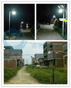 solar led garden light, integrated solar light