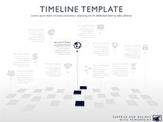 one year timeline template