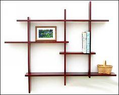 Wooden Wall Mounted Shelves