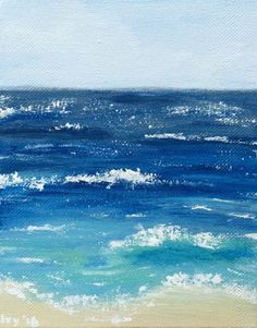 Inspired by beautiful beach in Bali with calm waves coming and going. #beach #seascape #blue #sunny #wave