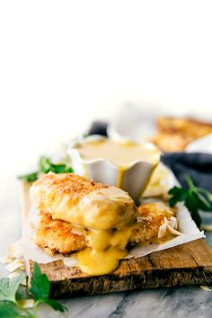 Delicious and simple baked coconut-crusted chicken tenders with an easy five-ingredient honey mustard dipping sauce. Video tutorial above written recipe. The husband and I have never been huge chick-fil-a fans. In fact we couldn't quite figure out what the hype was all about. His parents lovethe place and so we'd go with them occasionally and...