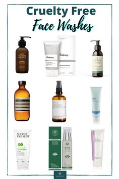 Looking for a cruelty free or vegan face wash? This guide gives you the best face washes for amazing skin. #beauty #ukbeauty #crueltyfree #crueltyfreebeauty #veganbeauty #facewash #crueltyfreefacewash Makeup Tips, Beauty Makeup, Best Face Wash, Makeup Is Life, Vegan Beauty, Makeup Yourself, Cruelty Free, Skin Care Tips, Beauty Hacks