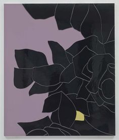Gary Hume, Black Flower 3 on ArtStack Gary Hume, Graphic Art Prints, Famous Art, Motif Floral, Art Plastique, Contemporary Paintings, Pop Art, Drawings, Artwork