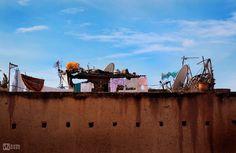 Marrakech, Morocco - Reality meets History  (El Badi Palace)