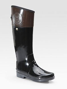 Regent Carlyle Two-Tone Rain Boots on shopstyle.co.uk
