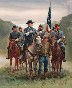 Civil War Historical Painting