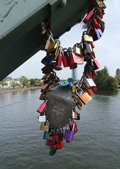 There's still another Love Lock Bridge where you can cement your love!