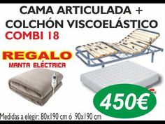 Ofertas SOMIERES ARTICULADOS ELECTRICOS 914980753 ideal para personas mayores o encamadas