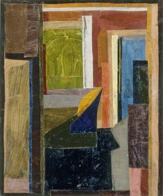 MoMA | Inventing Abstraction | Duncan Grant | Interior at Gordon Square. ca. 1914-15