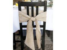 Mariage champetre déco chaise