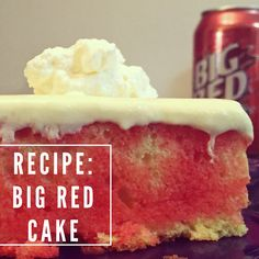 Recipe: Big Red Cake
