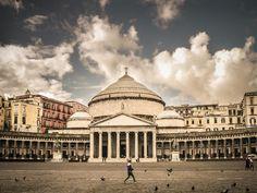 Piazza del Plebiscito Naples Italy