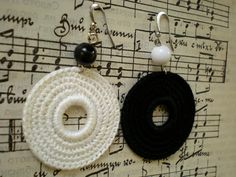 Crochet Earrings Black                                                                                                                                                     More