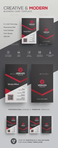 Creative & Modern Business Card Template - #Corporate #Business #Cards Download here: https://graphicriver.net/item/creative-modern-business-card-template/19618090?ref=alena994
