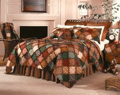 Quilt idea. Like he colors and could go diagonal or on the square.