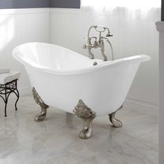 Cast Iron Soaking Tub