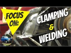 Quarter Panel Rust Repair: Focus on Clamping and Welding Patch Panels - YouTube Rat Rod Build, Auto Body Work, Welding Process, Auto Body Repair, Clamp, Rust, Patches, Youtube, Youtubers