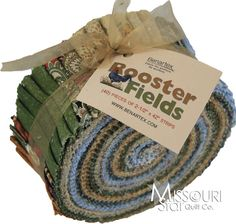 Rooster Fields Jelly Roll from Missouri Star Quilt Co